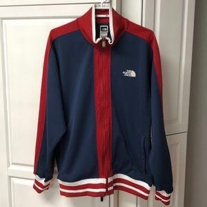 Retro THE NORTH FACE Track Jacket sz L